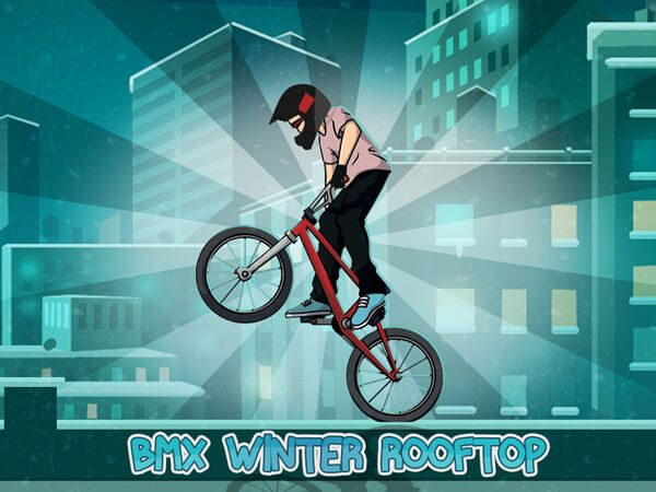 BMX Winter Rooftop